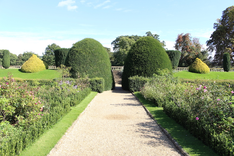 Topiary at Sudeley